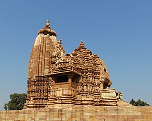 Vaman Temple, Khajuraho, India.
