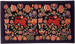 Khalili Collection Swedish Textiles Carriage Cushion Cover.jpg