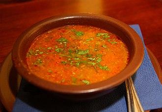 Georgian cuisine - Kharcho