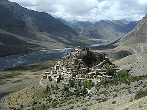 1975 Kinnaur earthquake - Key Monastery and the Spiti Valley, seriously affected by the Kinnaur earthquake