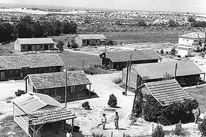 Zikim - Kibbutz Zikim in 1956