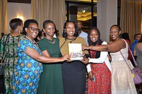 Kigali celebration for the women of Rwandan Women Rising (35426418905)
