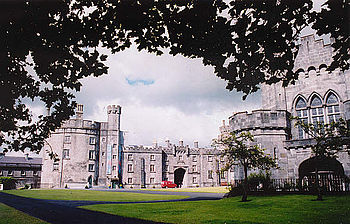 Kilkenny Castle. The Irish Confederate capital...