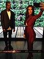 Kim Kardashian West & Kanye West figure at Madame Tussauds London (30314025063).jpg