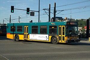 King County Metro fleet - Image: King County Metro D40LF