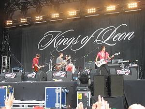 Kings of Leon op Pukkelpop 2007 in Hasselt, Ki...