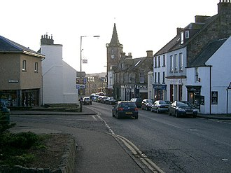 Kinross - Image: Kinross High Street. geograph.org.uk 92123