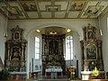 Kirche mit der interessanten Kasettendecke - panoramio.jpg