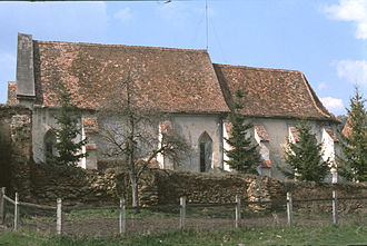 Mihăileni, Sibiu - Image: Kirchenburg mardisch