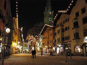 Economy of Austria - Kitzbühel, one of Austria's famous winter tourist cities