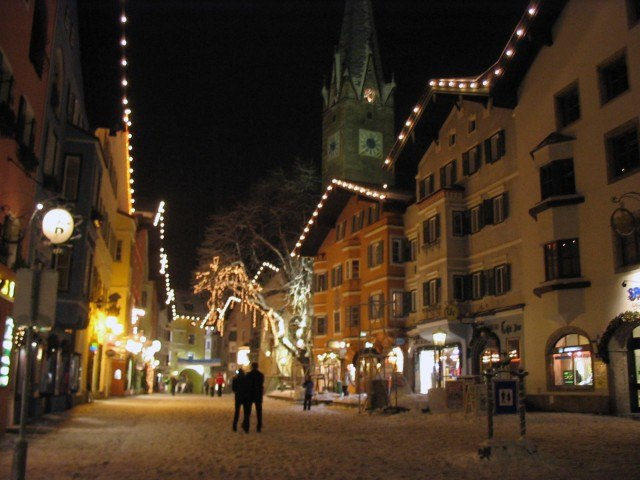 Kitzbühel by night
