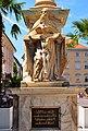 Klagenfurt Innere Stadt Alter Platz Basis der Dreifaltigkeitssäule 14072009 19.jpg