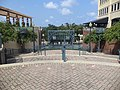 Kleman Plaza stairs to S Bronough St.JPG