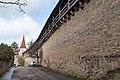 Klingenschütt Stadtmauer, vom Galgentor zum Kummereck Rothenburg ob der Tauber 20180216 001.jpg