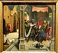 Knighting of St Martin by the Emperor Constantine, Bernard van Orley, Flemish, c. 1514 - Nelson-Atkins Museum of Art - DSC08436.JPG