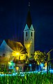 Knittelfeld Stadtpfarrkirche in der Nacht.jpg