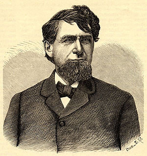 Knute Nelson - 1882 print of Nelson