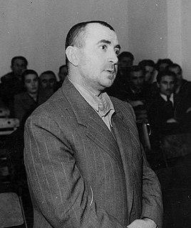 Koçi Xoxe Albanian politician