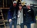 Kołacz, 2016r. Jacqueline Richardson, brat Nicolas Hinrichsen (L), (dzieci jedynej żyjącej córki Leo Levy`ego) i Amnon Rimon (P).jpg