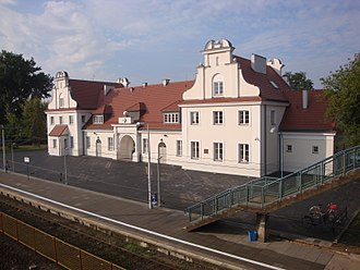 Chełmno extermination camp - Koło railway station