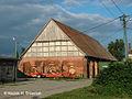 Kolbacz, dawny majątek cysterski - stodoła gotycka - 002.jpg