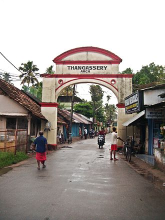 Tangasseri - Tangasseri arch