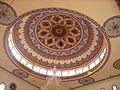 Konstanz Mevlana-Moschee Innen Kuppel 2.JPG
