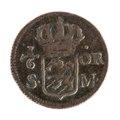 Kopparmynt, 1718 - Livrustkammaren - 102549.tif