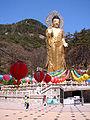 Korea-Beoun-Beopjusa Golden Maitreya Statue 1753-06.JPG