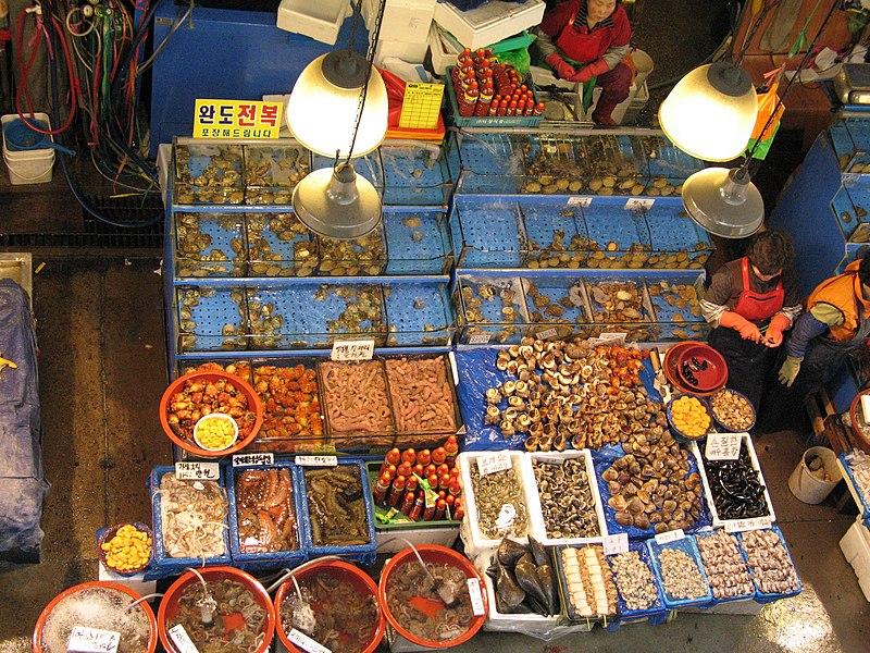 Berkas:Korea-Seoul-Noryangjin Fish Market-04.jpg
