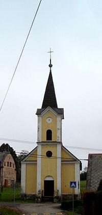 Královec, Kostel svatého Jana Nepomuckého.JPG