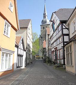 Krämergasse in Werl