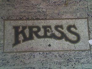 S. H. Kress & Co. - Kress inset on the site of the former Kress store in Berkeley, California