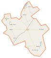 Książki (gmina) location map.png