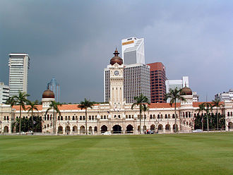 Sultan Abdul Samad Building - Front view of the Sultan Abdul Samad Building