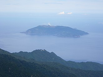 Ōsumi Islands - Image: Kuchinoerabujima island from Mt.Nagatadake