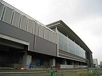 Kumamoto Station Shinkansen Building on 20 Dec 2009.jpg