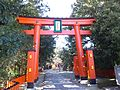 Kumano-hayatama-taisha Shrine - Torii of entrance.jpg