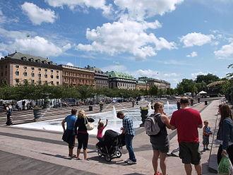 Kungsträdgården - Image: Kungsträdgården 20090712