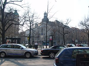 Charlottenburg-Wilmersdorf - Kurfürstendamm is one of the most famous avenues in Berlin