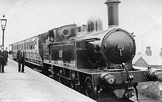 LNWR 4ft 6in Tank Class - No. 2288 in service