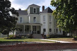 Louisburg Historic District - Nicholson-Bickett-Taylor House, Louisburg Historic District, March 2007