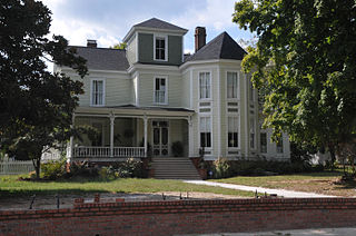 Louisburg Historic District National historic district in Louisburg, Franklin County, North Carolina, United States