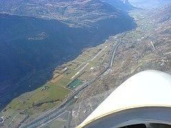 LSTA Raron airfield