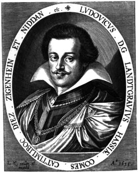 Ludwig V., Hessen-Darmstadt, Landgraf