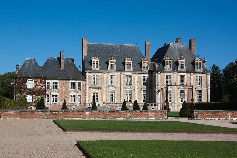 File:La-Ferté-Saint-Aubin Château de la Ferté Extérieur IMG 0030.jpg