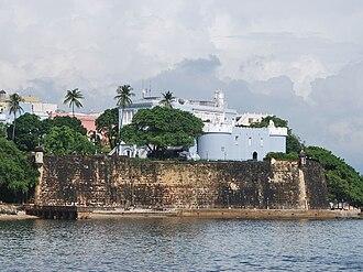 La Fortaleza - La Fortaleza from San Juan Harbor