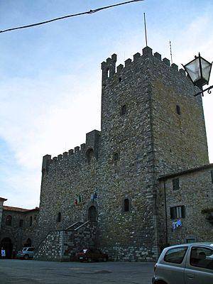 Castellina in Chianti - The Rocca of Castellina