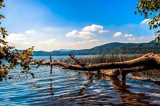 Laacher See im Sommer
