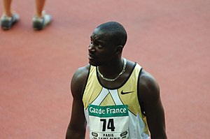 1999 World Youth Championships in Athletics - Ladji Doucoure of France was triumphant in the 110 metres hurdles.